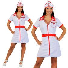 LADIES SEXY NURSE COSTUME HOSPITAL FANCY DRESS NAUGHTY UNIFORM OUTFIT S-XXL HEN