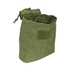 NcStar CVFDP2935G OD GREEN Tactical PVC Small Utility Folding Dump Pouch