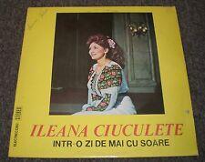 Intr-o Zi De Mai Cu Soare Ileana Ciuculete~ULTRA-RARE Romanian Import Folk~VG++