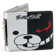 Anime Danganronpa Monokuma Cosplay Bifold Short Wallet Purse Holder