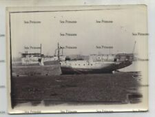 More details for royal navy photo cohen's shipbreaking yard east london 1896-7 composite sloop