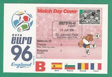 FOOTBALL  -   STAMP  COVER  ENVELOPE  FOR  EURO  96  -  MATCH  NO.  18  -  1996