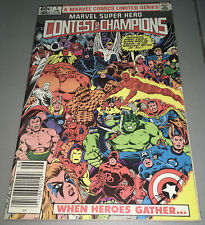 Marvel Super Hero Contest of Champions #1 Newsstand Variant