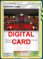 4X Lysandre Labs 111/131 Forbidden Light Pokemon TCG Online Digital Card