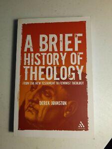 A Brief History of Theology - Derek Johnston - Paperback - Free Postage