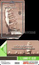 SCHEDA TELEFONICA  _ VELE VENEZUELA S. BOLIVAR - C&C 3206 GOLDEN 1129 - USATA