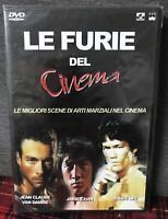 Le Furie del Cinema DVD Nuovo Van Damme Bruce Lee Jackie Chan Le Miglior Scene