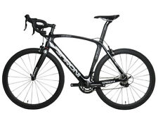 56cm AERO Carbon Full bicycle Road bike frame 700C Alloy Wheel Clincher V brake