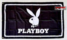 Playboy Flag Banner 3x5 Bunny Advertising Man Cave Garage