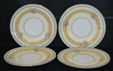 """4 Beautiful Noritake Juno 6 3/8"""" Bread & Butter Plates - 3 Sets Available - EX"""