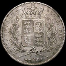 Victoria Silver Young Head Crown 1845