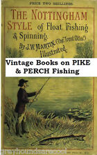 Pike Perch Fishing Vintage Angling Books on Disc Gift for The Coarse Fisherman
