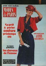Modes De Paris N°  1571 - fevrier 1979
