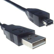 CAVO CAVETTO MICRO USB SPINA TIPO A E SPINA TIPO MINI B CON 4 PIN 1 METRO BULK*
