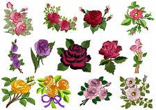 ABC Designs 13 Roses Heaven Machine Embroidery Designs Set 4x4 Hoop