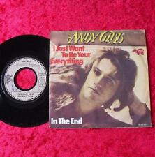 """Single 7"""" Andy Gibb-i just want to be your everything OTTIMO STATO!"""
