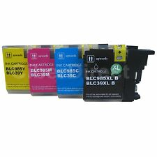 4 BROTHER DCP-J140W compatible printer ink cartridges