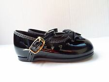 Small Steps Black Patten Leather Shoes In Size 3 (Infant/Toddler)