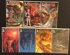 SOULFIRE DYING OF THE LIGHT #0 - 5 Comics #1 SIGNED MICAH GUNNELL Aspen 2005 NM