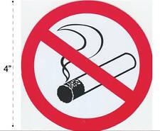 No Smoking Vinyl Sticker Decal Warning Safety Sign Store Office Building Home #1