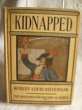 "Scarce! ""Kidnapped"" Robert Louis Stevenson Washington Square 1920's Book"