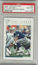 Troy Aikman 2000 Topps Gallery Players Private Issue #/250 PSA 10 Gem Mint POP 3