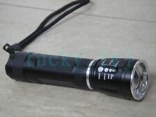 Zoomable Flashlight CREE XM-L T6 LED 3-Mode Pocket Zoom Focus Torch CBS