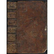 HISTOIRE du PEUPLE de DIEU Origine à la Naissance du MESSIE par BERRUYER 1742 T7
