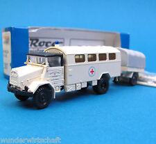Roco H0 1387 Set MAN 630 L2A + ANHÄNGER Deutsches Rotes Kreuz DRK HO 1:87 OVP