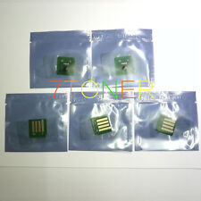5 x Toner Chips For Xerox WorkCentre 7120 7125 7220 7225  006R01461 ~ 006R01464
