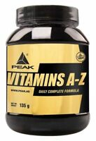Vitamins A-Z Peak 180 Tabletten Eur 5,11 /100g