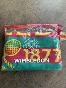Ladies Wimbledon Christy Towel 2016 New in original packaging