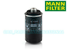 Mann Hummel repuesto de calidad OE Filtro de aceite del motor W 719/45