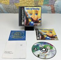 SHIPS SAME DAY Tales of Destiny PS1 100% Complete Sony Playstation 1 Tested Rare