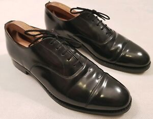Church Balmoral Black Leather Formal Shoes Church Size 85F UK Size 8.5 RRP £475