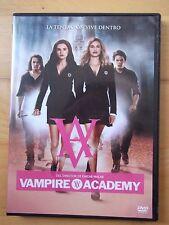 DVD,Vampire Academy.Zoey Deutch,Lucy Fry