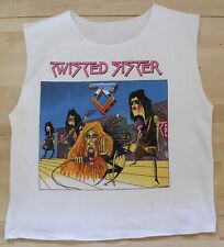 Vintage 1985 Twisted Sister Under The Blade Summer Tour T-Shirt Tank Top XL
