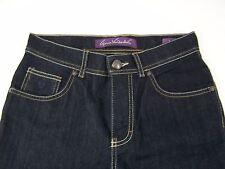 Gloria Vanderbilt Amanda Jeans Womens  Stretch Straight Leg Size 4P Black