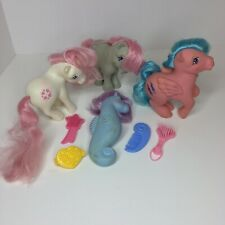 Vintage 1980s MY LITTLE PONY LOT W Brushes