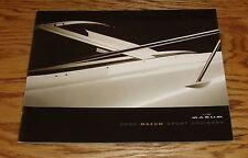 Original 2002 Maxum Sport Cruiser Boat Sales Brochure 02