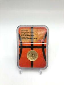 🌟2020-W $5 Basketball Hall of Fame Gold Proof Coin NGC PF70 ER Basketball Core