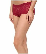 Hanky Panky 4812 Size S Signature Lace Boyshorts Panty Red