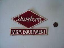 Dearborn Farm Equipment Patch, NOS, New Dear Born