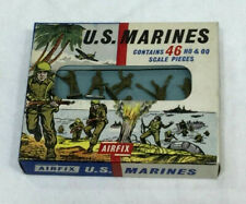 1960s AIRFIX H0 & 00 Scale WWII US Marines USMC Raiders Figures Boxed New
