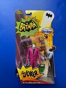 Batman 1966 TV Series The Joker Figure Mattel New