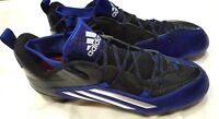 NEW Adidas Crazyquick 2.0 Low Sz 13.5 Blue Silver Black Men's Football Cleats