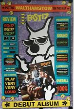East 17-Cartoon Original Giant Promo Poster 39x60 inch. Free Int. Shipping