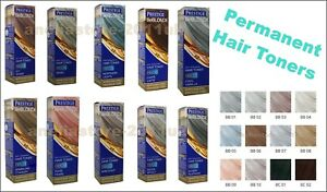 Prestige Be Blonde Semi Permanent Hair Toners Ammonia & Peroxide Free 100ml