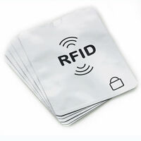 5passport +20x RFID Blocking ID Credit Card Theft Protector Secure Sleeve Holder