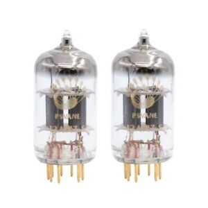 Gain Matched Pair (2 PCS) Psvane 12AX7-S Art Series Gold Pins Vacuum Tubes